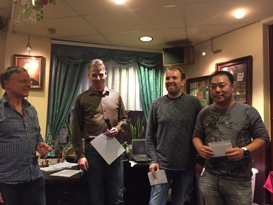 Yong Hoon de Rover Rapidkampioen 2016 NHSB (Pieter Hopman tweede)